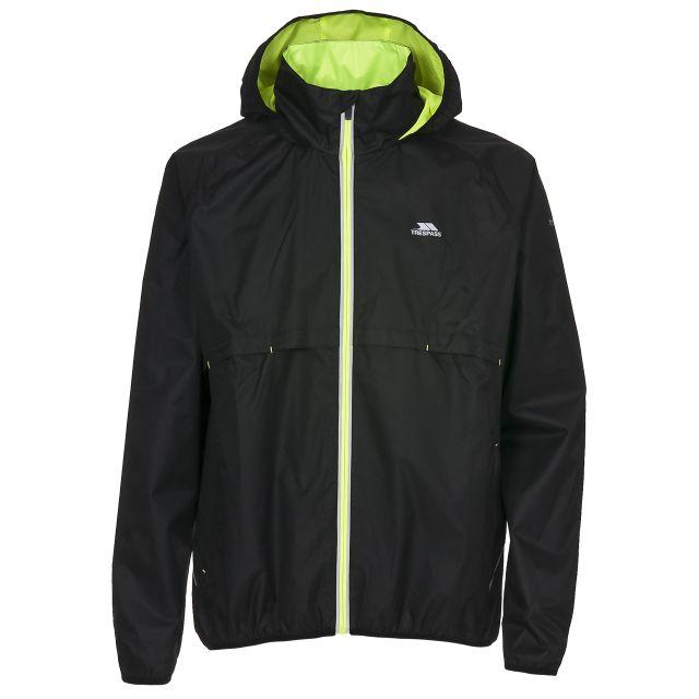 Tennessee Mens Waterproof Jacket in Black