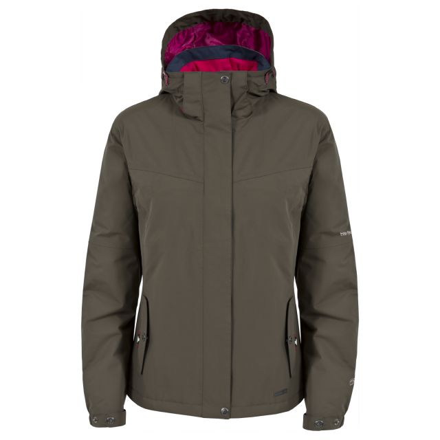 Malissa Women's Waterproof Jacket in Khaki