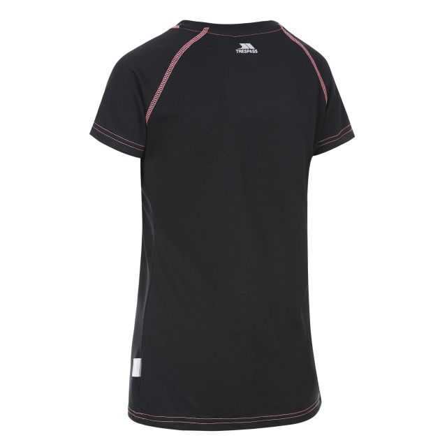 Mamo Women's Quick Dry T-Shirt in Black