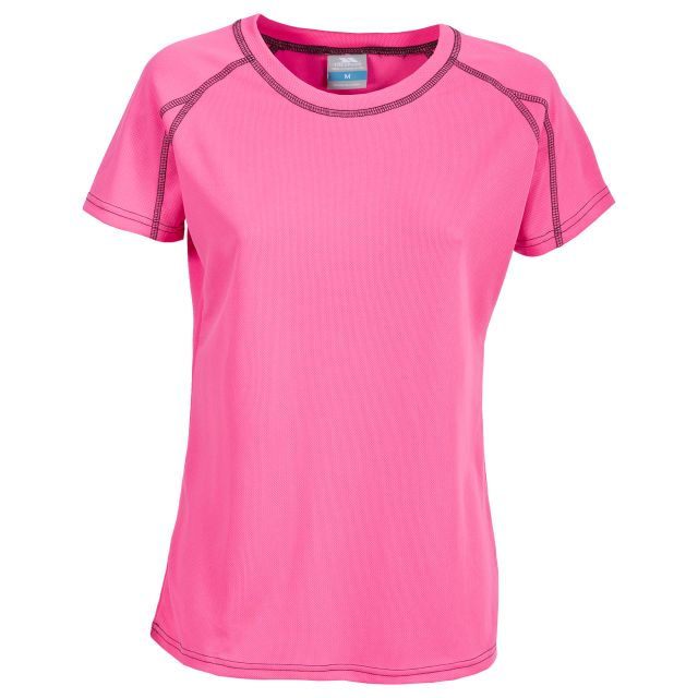 Mamo Women's Quick Dry T-Shirt in Pink