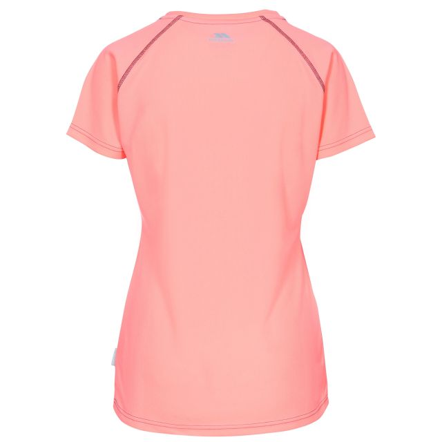 Mamo Women's Quick Dry T-Shirt in Peach