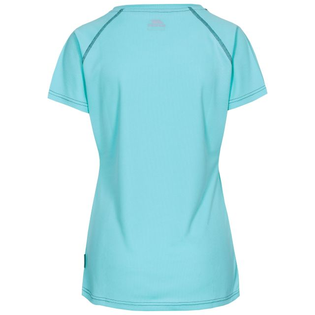 Mamo Women's Quick Dry T-Shirt in Light Blue