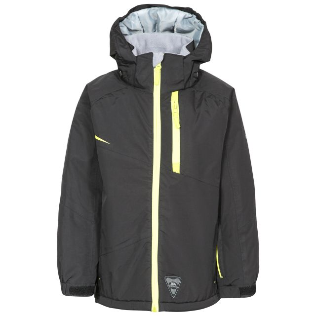 Mander Kids' Ski Jacket in Black