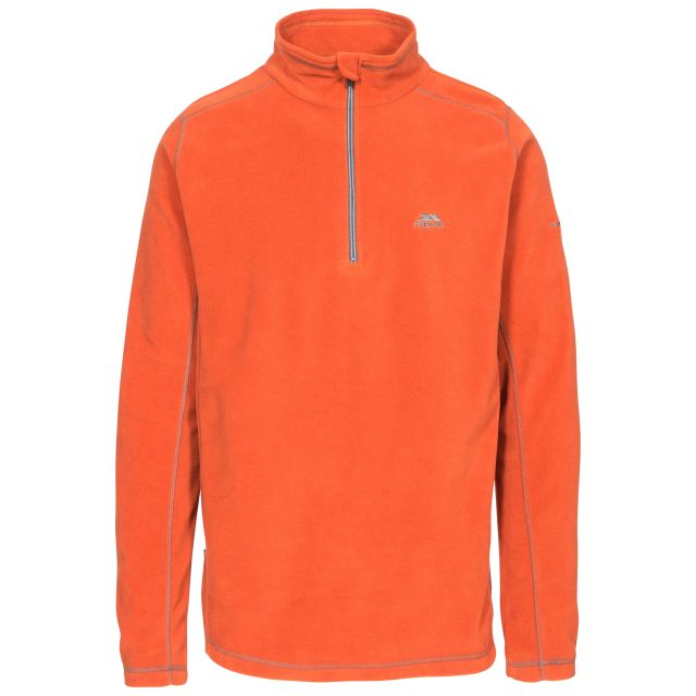 Maringa Men's 1/2 Zip Fleece in Orange