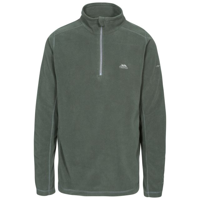 Maringa Men's 1/2 Zip Fleece in Khaki