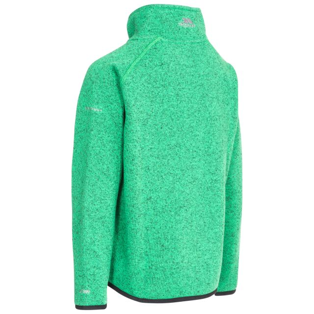 Mario Kids' Full Zip Fleece Jacket in Green