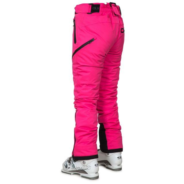 Marisol Women's DLX Waterproof Ski Trousers in Pink