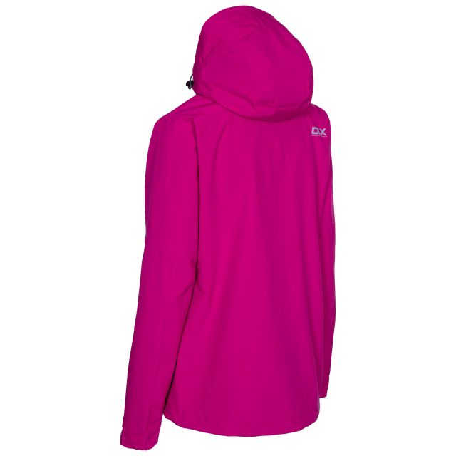 DLX Womens Waterproof Jacket Martina in Pink
