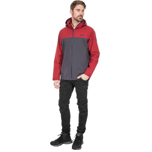 Marton Men's DLX Waterproof Jacket in Red