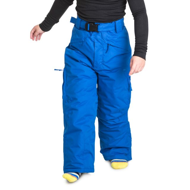 Marvelous Kids' Insulated Salopettes in Blue