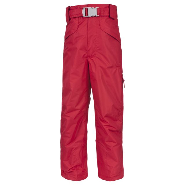 Marvelous Kids' Insulated Salopettes in Red