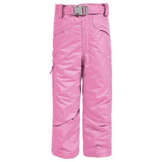 Marvelous Kids' Insulated Salopettes in Light Pink