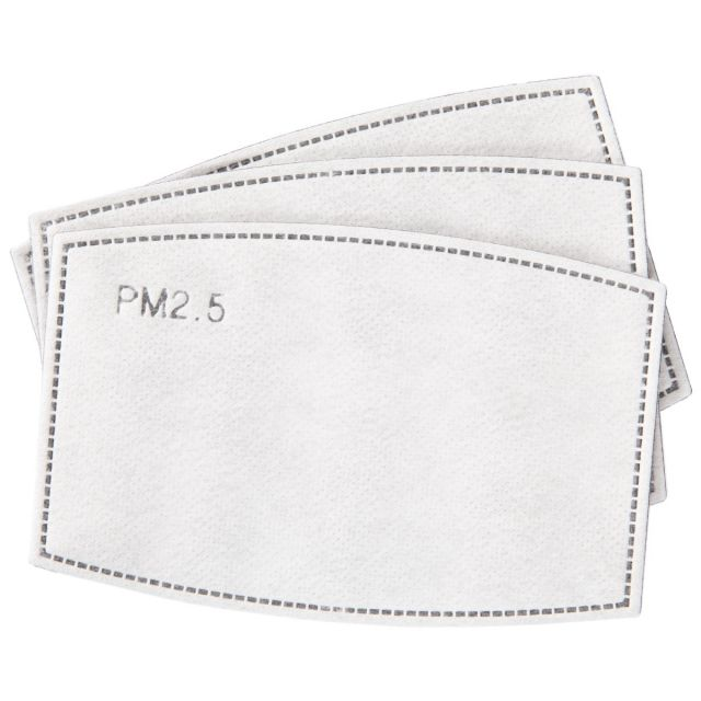 Replacement Filters for Cloth Face Mask - Pack of 3, Packed view