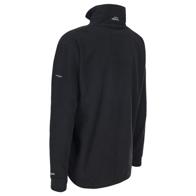 Masonville Men's 1/2 Zip Fleece in Black