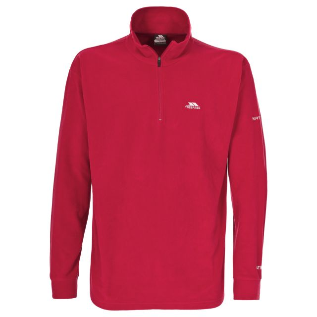 Masonville Men's 1/2 Zip Fleece in Red