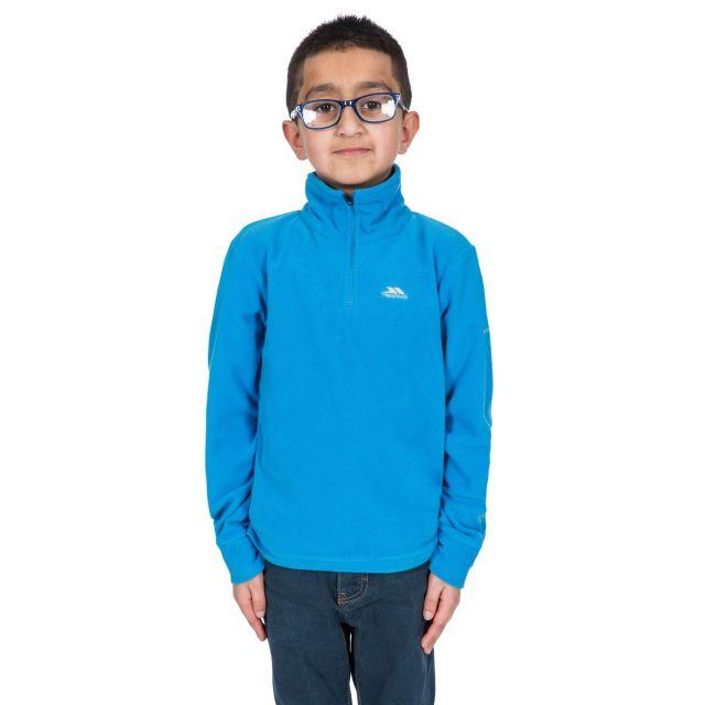 Masonville Kids' Half Zip Fleece in Blue