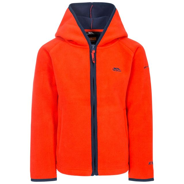 Mast Kids' Fleece Hoodie in Flame