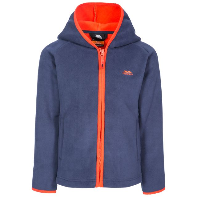 Mast Kids' Fleece Hoodie in Navy