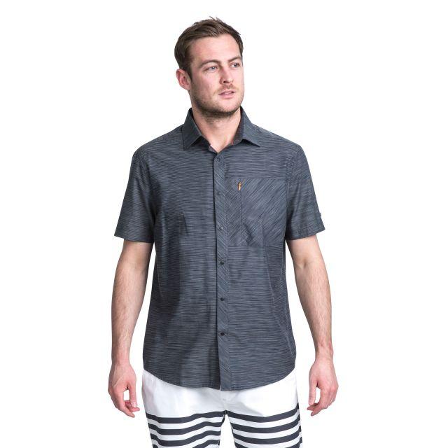 Matadi Men's Short Sleeve Shirt in Grey