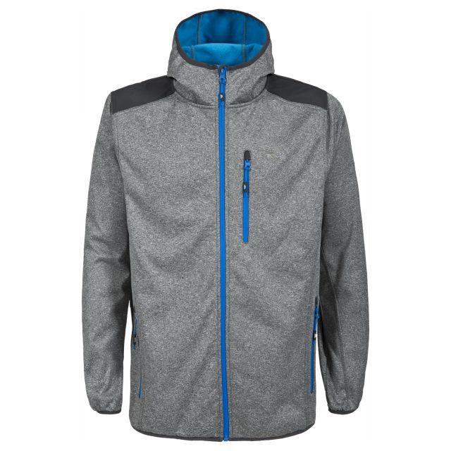 Mathew Men's Waterproof Softshell Jacket in Light Grey