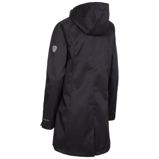 Matilda Women's Water Resistant Softshell Jacket in Black