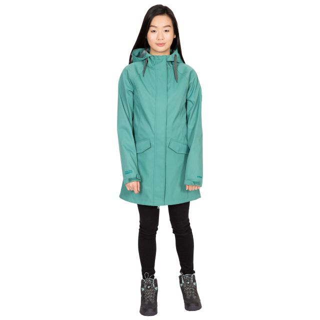 Trespass Womens Softshell Jacket Water Resistant Matilda in Green