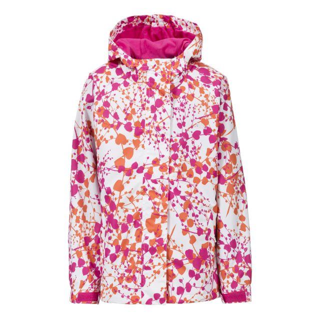 Mattie Girls Waterproof Jacket in Pink