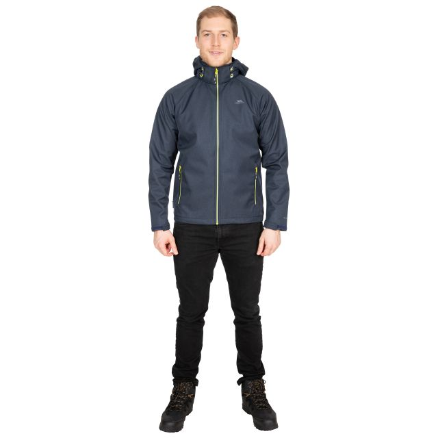 Maverick Men's Water Resistant Softshell Jacket in Navy