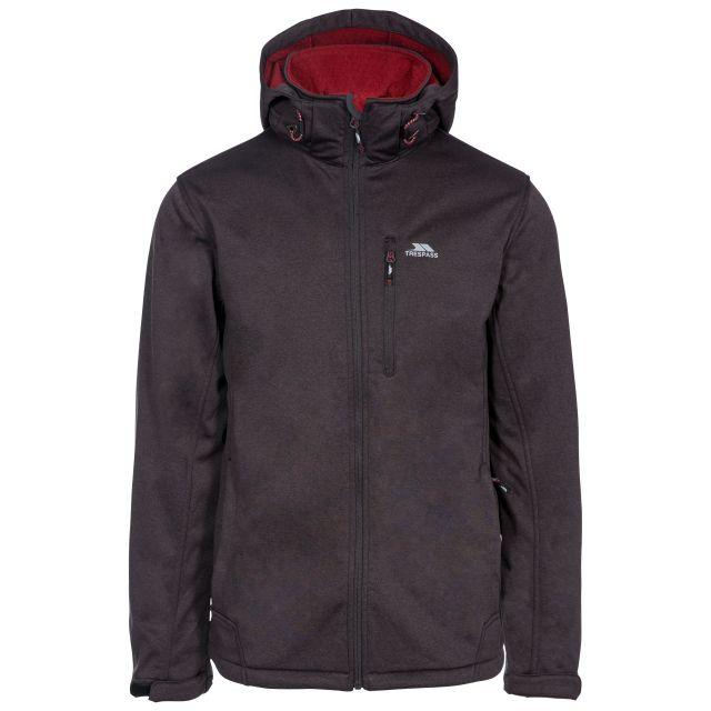 Maynard Men's Breathable Windproof Softshell Jacket in Grey