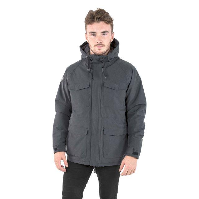 Mazaro Men's Waterproof Jacket in Black