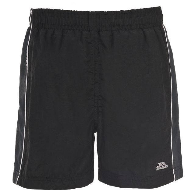 Brandon Kids' Swim Shorts in Black