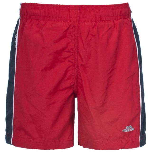 Brandon Kids' Swim Shorts in Red