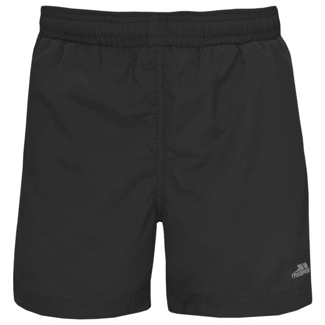 Trey Kids' Swim Shorts in Black