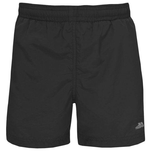 Trey Kids' Swim Shorts in Black
