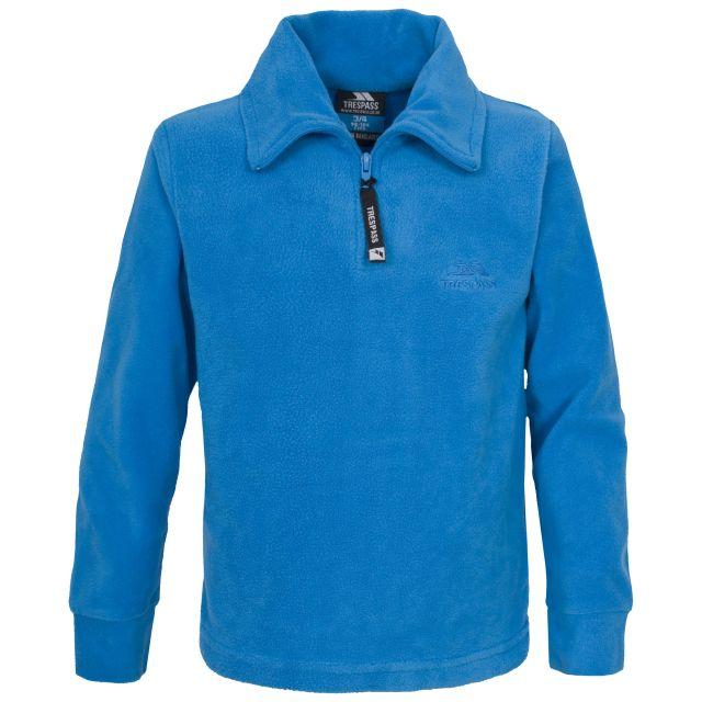 Lap Boys Half Zip Microfleece in Blue