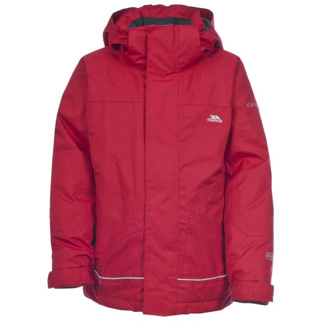 Cornell Kids' Waterproof Jacket in Red