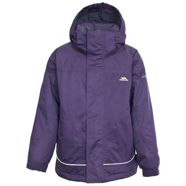 Cornell Kids' Waterproof Jacket in Purple