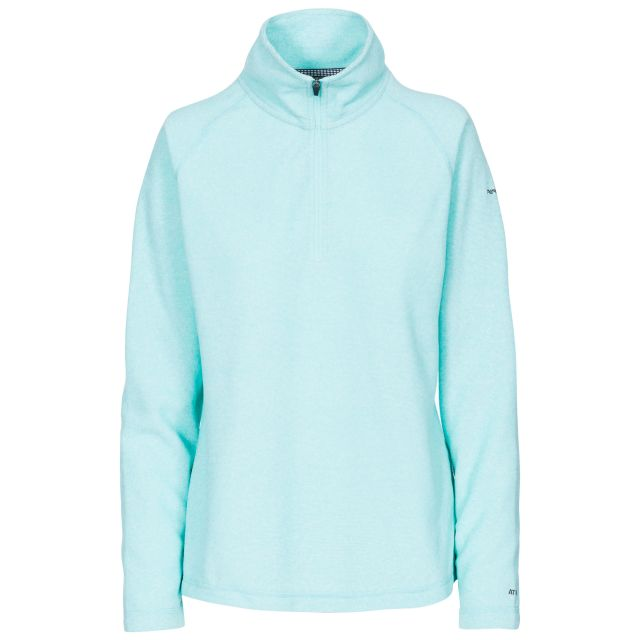 Meadows Women's 1/2 Zip Fleece in Light Blue