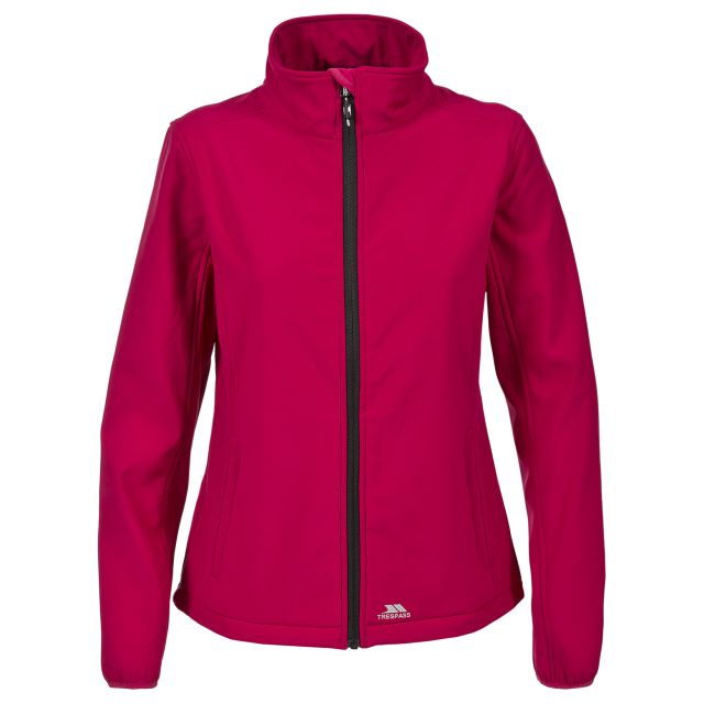 Meena Women's Softshell Jacket in Pink