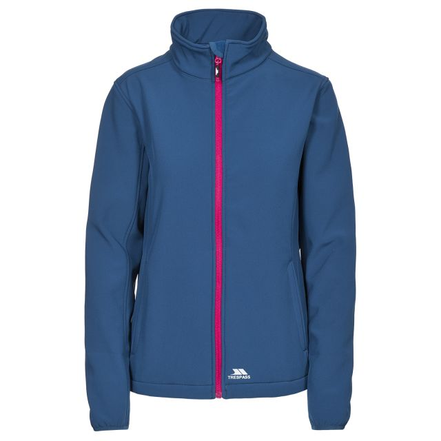 Meena Women's Softshell Jacket in Blue