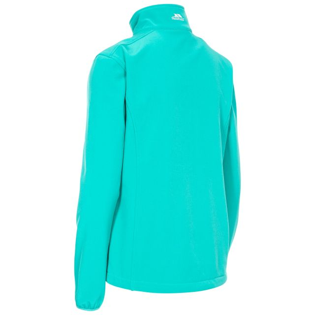 Trespass Womens Softshell Jacket Meena in Green