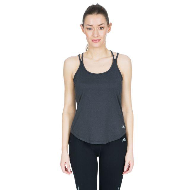 Meghan Women's Sleeveless Active T-shirt in Grey