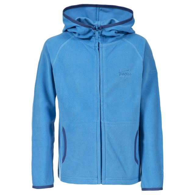 Melvin Kids' Full Zip Fleece Hoodie in Blue