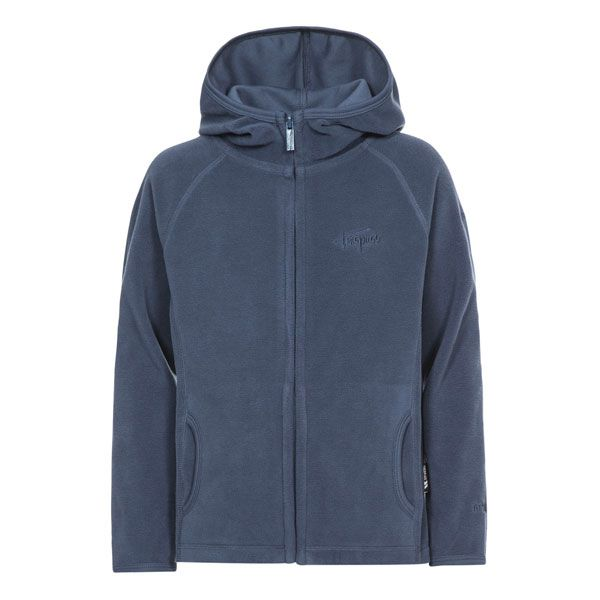 Melvin Kids' Full Zip Fleece Hoodie in Navy