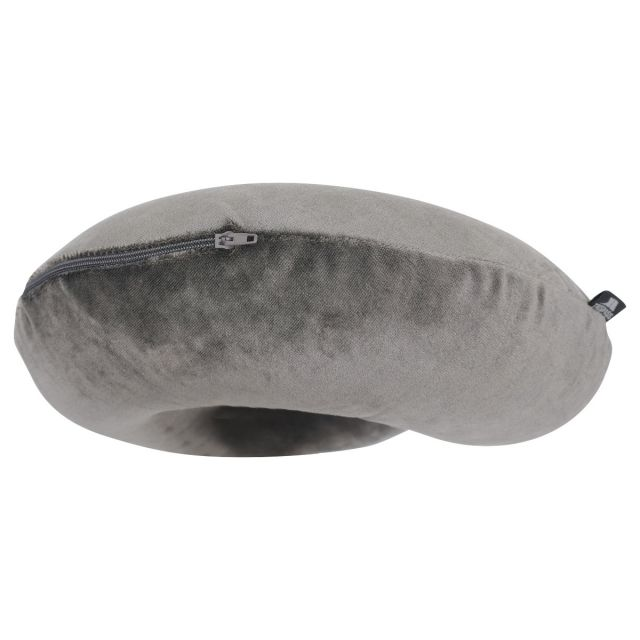 Memory Foam Travel Pillow in Grey