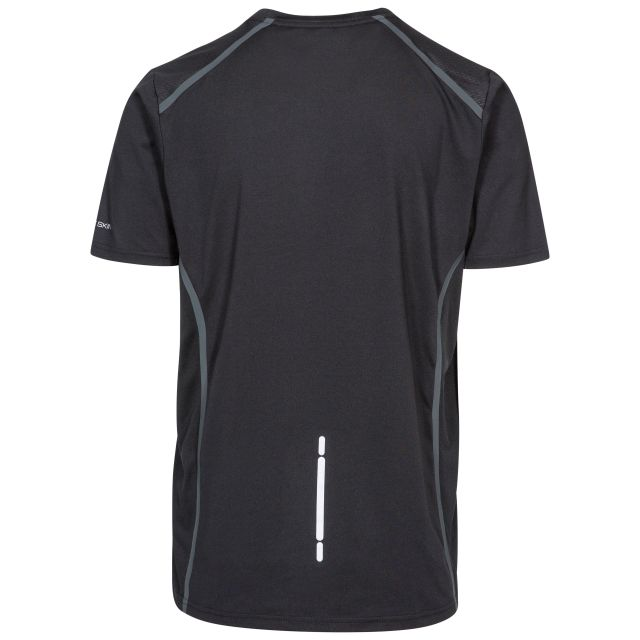 Men's DLX Quick Dry Antibacterial T-shirt in Black