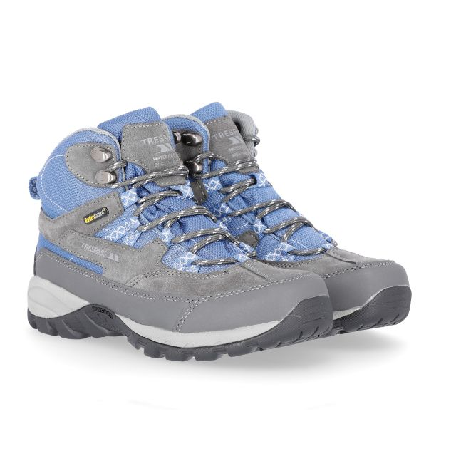 Merse Women's Breathable Walking Boots in Grey