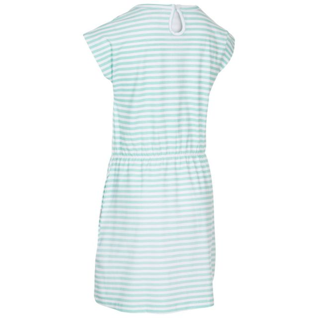 Mesmerised Kids' Short Sleeve Dress in Light Green