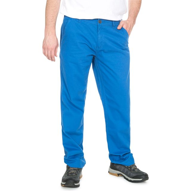 Milium Men's Chino Trousers in Blue