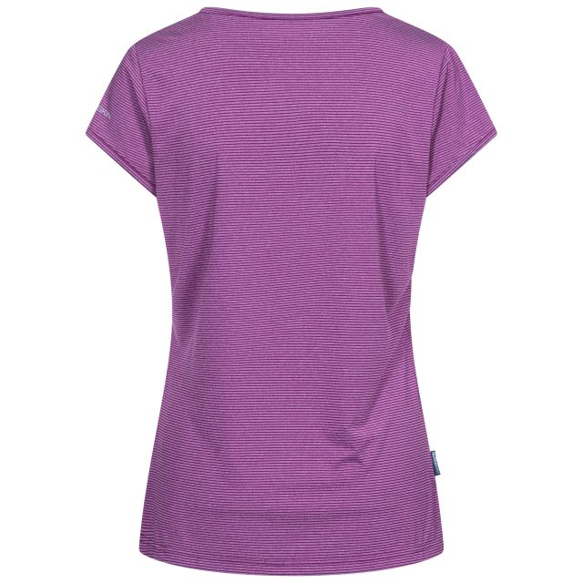 Mirren Women's Quick Dry Active T-Shirt in Burgundy